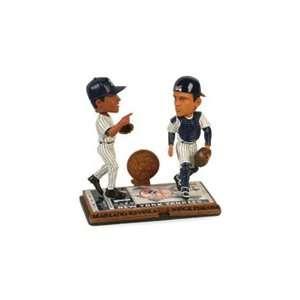 New York Yankees Mariano Rivera and Jose Posada