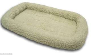 Pet Dog Cat Bed Fleece Pad 30x18 fits Dog Cage Crate