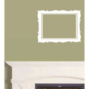 StikEez White Picture Frame Art Wall & Window Decal