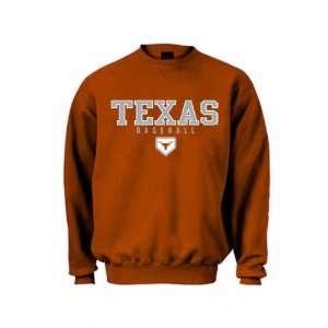 Texas Longhorns Orange Squeeze Play Crewneck Sweatshirt