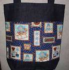 NEW Handmade Lg Teddy Bear Bee Hive Diaper Tote Bag