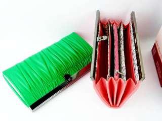 new fashion lady women long purse clutch fold wallet handbag Evening
