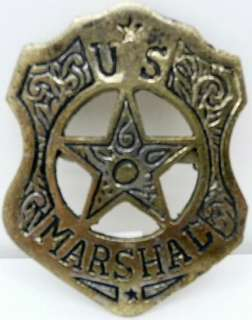 US Marshall Badge old west police Cowboy Badges 7