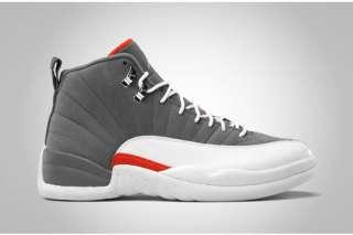 Jordan 12 XII Retro Cool Grey / Orange size 12 NIB DS *NEW* 5 19 2012