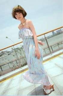 Fashion Elegant Multicolor Flowers Faux Pearl Bib Necklace Ladys