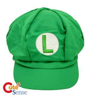Nintendo Super Mario Luigi Custume Hat Cosplay Cap Cotton 1