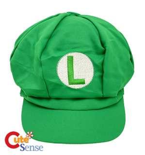Nintendo Super Mario Luigi Custume Hat Cosplay Cap Cotton 1