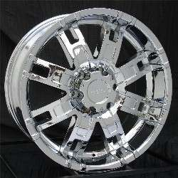 22 inch Chrome Wheels/Rims Chevy GMC Truck 1500 6 Lug