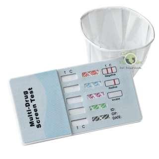 Panel Drug Tests Test Kit THC AMP COCAINE OPI MAMP