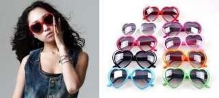 Retro Funny Love Heart Shape Lolita Sunglasses Glasses