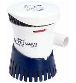 Attwood Tsunami T800 12V 800GPH Cartridge Bilge Pump 4608 7