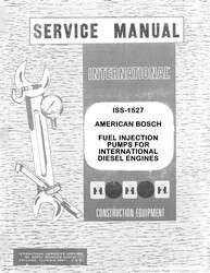 International American Bosch Fuel Pump Service Manual