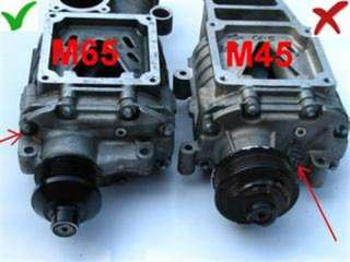 Mercedes Kompressor Tuning kit Eaton M65 +30PS