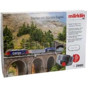 Märklin 29483   Digital Startpackung Schweizer Gütrzug