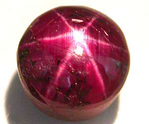 04 CT BIG VERY NICE NATURAL UNTREATED TOP STAR RUBY |