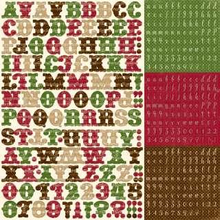 Echo Park Merry Christmas xmas paper & sticker kit