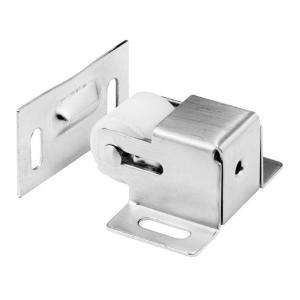 Prime Line Satin Nickel Cabinet/Closet Door Roller Catch N 7386 at The