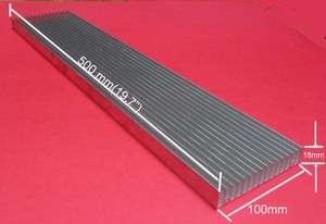 18 mm Aluminum Heat Sink For LED or Electronic components.