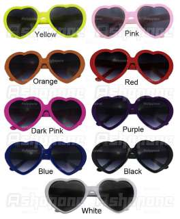 New Fashion Funny Heart Shape Sunglasses for Party