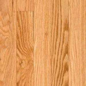 BLC Hardwood Flooring Unfinished Natural Red Oak 3/4 in. Thick x 3 1/4