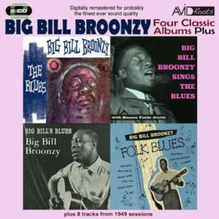 Four Classic Albums Plus (Big Bills Blues / Big Bill Broonzy Sings