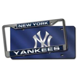 MLB New York Yankees Team Plate Frame and Acrylic Decals 151206 at The