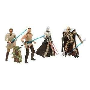 Star Wars, Battle Pack Jedi vs. Sith, mit 5 Figuren ANAKIN, ASAJJ