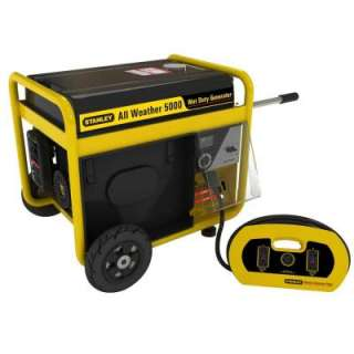 /Peak Watt Storm Portable Generator with Removable Generator Panel