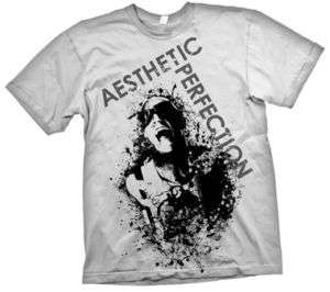 Aesthetic Perfection: White Scream T Shirt [NEW]