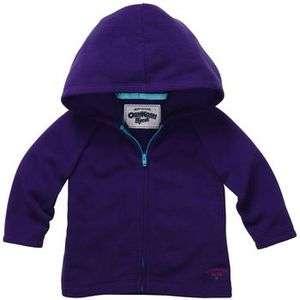 NWT OshKosh Infant/Toddler Girls Purple Fleece Hoodie   Was $24