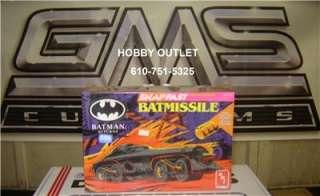 AMT/ERTL Plastic Model Kit 6614 BATMAN BATMISSLE RETURNS 1/25 GMS