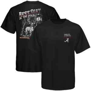 Alabama Crimson Tide Best Seat T shirt   Black