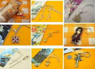 Manga Kuroshitsuji Black Butler Schlüsselanhänger Anhänger Keychain