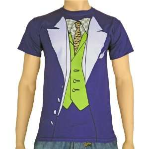 Batman The Dark Knight T Shirt Joker Suit S XL  Sport