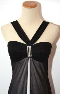 NEW $60 WINDSOR JUNIOR BLACK/WHITE DAY EVENING DRESS 3