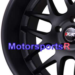 Black Lip Rims Staggered Wheels Stance 04 Ford Mustang GT Cobra