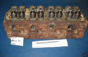 FORD 302/5.0 ENGINE CYLINDER HEAD 1988 93 REBUILDABLE #7201