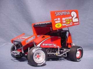 SANMINA HOOSIER NO BOX R&R SPRINT CAR GMP 1:18 WORLD OF OUTLAWS