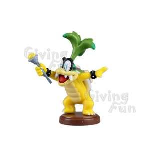 GENUINE 2011 Furuta Chocolate Egg Super Mario Bros Iggy Koopa Figure