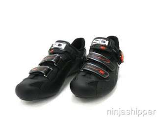 NEW SIDI GENIUS 5 PRO CARBON   Road Cycling Shoes   Black/Black