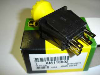 JOHN DEERE PTO SWITCH AM118802 NEW IN PACKAGE |