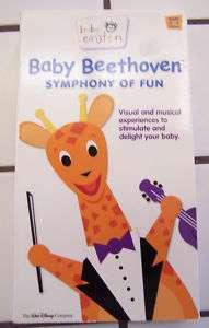 Disney Baby Einstein   Baby Beethoven (VHS, 2002) 786936202533