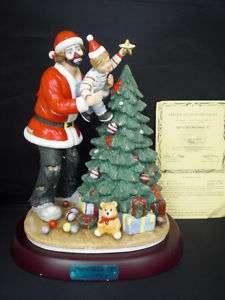 Emmett Kelly Jr Spirit of Christmas XI Signed Ltd.Ed