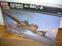 48 JUNKERS JU 88 C 6 NIGHT FIGHTER   REVELL # 85 5970