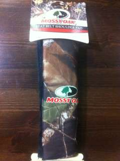 Mossy Oak Seat Belt Shoulder Pad / Cushion