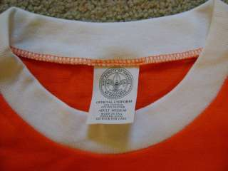 Youth Large Tiger Cub T Shirt Boy Scout NEW Cotton Blend Orange Short