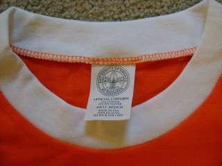 Youth Large Tiger Cub T Shirt Boy Scout NEW Cotton Blend Orange Short
