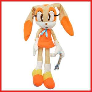 Sega Sonic Cream Plush Doll/Stuffed Toy Figure  18 L