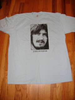 JOHN BONHAM   LED ZEPPELIN T  SHIRT (2XL)