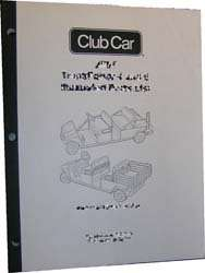 CLUB CAR DS GOLF CART SERVICE MANUAL 1998 1999 GAS & ELECTRIC (PDF